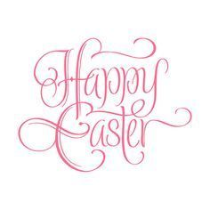 HAPPY EASTER original custom hand lettering -- modern handmade calligraphy, vector typography background/ overlay/ caption for photo cards, greeting cards, party invitations for Easter sunday; Easter Specials, Calligraphy Words, Easter Colors, Photo Caption, Easter Holidays, Good Vibes Only, Happy Easter, Easter Bunny, Photo Cards
