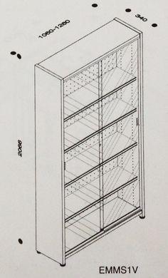 resultado de imagen para estanteria biblioteca medidas