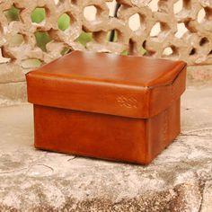 Saddle Leather Box
