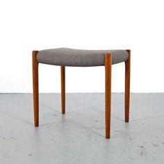 Teak Stool Mod 80a by Niels O. Møller Denmark 60s | Danish Modern Hocker 60er /2  sc 1 st  Pinterest & Michael Yates - Axis Bench Walnut | Furniture Design | Pinterest ... islam-shia.org