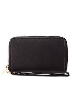 Textured Wristlet Wallet #CharlotteRusse #CRfashionista #wallet
