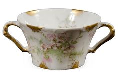 Vintage Haviland Bouillon Bowl on OneKingsLane.com