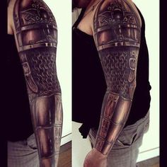 Chainmail Tattoo!!! OMG!!! SOOOO AWESOME!!!!!!!
