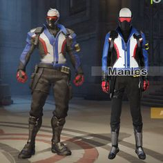 2016 Manles Soldier 76 Cosplay Costume OW Game Hero Soldier 76 Jacket Soldier 76 Costume Full Set with Boots Halloween Costume Full Body Costumes, Game Costumes, Cosplay Costumes, Cosplay Ideas, Halloween Suits, Halloween Costumes, Captain America Series, Jack Morrison, High Quality Costumes