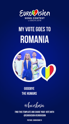 Eurovision 2018 Instagram template by @luceslusia - Romania I Voted, Lose Weight At Home, Boost Metabolism, Weight Loss Plans, Burn Calories, Stay Fit, You Can Do, Romania, Videos