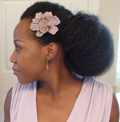 A tucked bun= a very easy, protective style.  I found this on www.luvnaturals.com