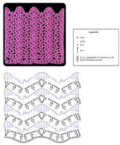 Janet Crochet: motives, crocheted