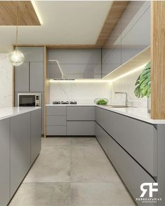Modern Kitchen Design 2019 - This Best Modern Kitchen Design 2019 Gallery images was upload on December, 22 2019 by Elmer Emmerich. Here latest Modern Kitchen Modern Kitchen Interiors, Luxury Kitchen Design, Kitchen Room Design, Home Room Design, Kitchen Cabinet Design, Home Decor Kitchen, Interior Design Kitchen, Kitchen Decorations, Kitchen Ideas