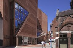 LSE Saw Hock Student Centre, London by O'Donnell + Tuomey Architects. The brick…