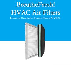 To live pure, you have to BreatheFresh! CuZn's patented BreatheFresh! technology for HVAC filtration. Easily installed in tandem with with all HEPA filter brands and sizes Removes Chemicals, Smoke, Volatile Organic Compounds & 100% of Odors