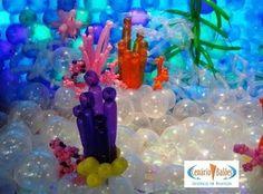 BLOG: Mega Festas: Fundo do Mar By Cenário Balões