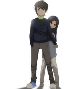 My brothers are always there for me. Cute Couple Art, Anime Love Couple, Couple Cartoon, Cute Muslim Couples, Muslim Girls, Cute Couples, Muslim Women, Islamic Cartoon, Anime Muslim