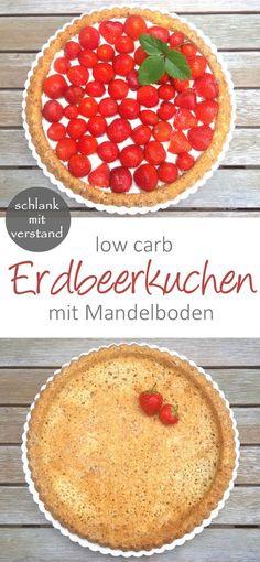 Erdbeerkuchen low carb rezept