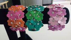 Summer is all about flowers.  These new bracelets in our fashion jewelry collection are a fun way to accessorize a summer outfit.