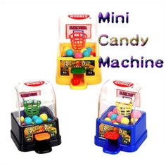 [Hot Item] Mini Candy Toy Basketball Game Vending Machine with Candy Cartoon Toys, Candy S, Gumball Machine, Basketball Games, Vending Machine, Mini, Food Ideas, Gifts, Cool School Supplies