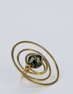 Contemporaryart jewellery by one continous line Jewelry Art, Jewellery, Contemporary Art, Sapphire, Anna, Rings, Jewels, Schmuck, Ring