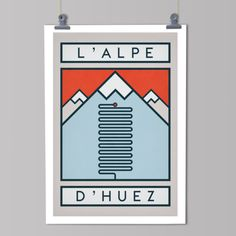 """cadenced: """" The Handmade Cyclist has released a new set of posters commemorating some of the great climbs of the Tour de France. L'Alpe d'Huez, twenty-one hairpins that rise up one of the most. Cycling Tattoo, Bicycle Tattoo, Bicycle Art, Cycling Art, Bicycle Rims, Road Cycling, Cycling Bikes, Alpe D Huez, Bike Poster"""