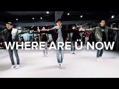 Where Are Ü Now  - Skrillex, Diplo, Justin Bieber / Bongyoung Park Choreography - YouTube
