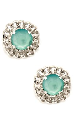 Cute As A Button Round Earrings by Soho Hearts
