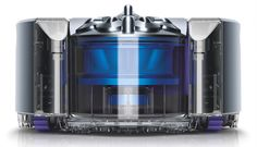 Track your vac remotely by app! It's the Dyson 360 Eye Robot Vacuum