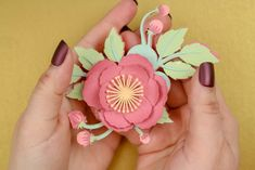 This year opt for a pretty paper flower corsage for Mother's Day. Flower Corsage, Wrist Corsage, Cricut Tutorials, Paper Flowers, Fun Crafts, Favorite Color, Project Ideas, Projects, Color Schemes