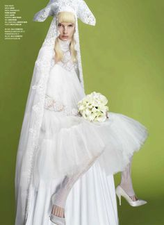 Irene Hiemstra    Cruise to the Altar (V Magazine)