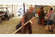 Thousands descend on Thorney Lakes near Muchelney for Green Scythe Fair