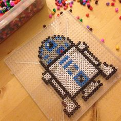 My ultimate ironing beads - tips :-) - iron - Perler Bead Templates, Beaded Bookmarks, Beading Patterns Free, Bead Patterns, Ornament Hooks, Iron Beads, Melting Beads, Perler Bead Art, Star Wars Party