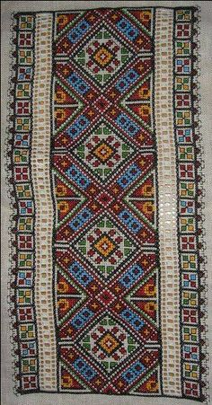 Ukraine , ♥ , from Iryna Embroidery Flowers Pattern, Wool Embroidery, Hardanger Embroidery, Cross Stitch Embroidery, Cross Stitch Patterns, Palestinian Embroidery, Art N Craft, Loom Beading, Rug Hooking