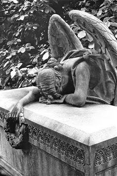 woodlawn cemetery bronx | Mourning Angel, Woodlawn Cemetery in the Bronx, New York ``