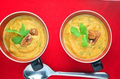 Coconut Carrot & Coriander Soup