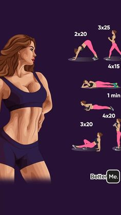 Yoga Fitness, Fitness Workout For Women, Physical Fitness, Health Fitness, Shape Fitness, Gut Health, Belly Fat Workout, Butt Workout, Gym Workouts