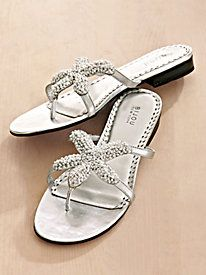 Beaded Starfish Sandals