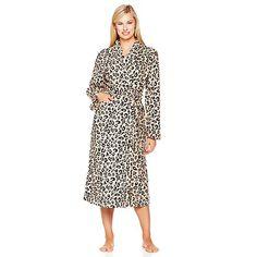 Concierge Collection Soft  amp  Cozy Robe Leopard XL 1X New   ConciergeCollection  Robes Robes 9efd3ce80