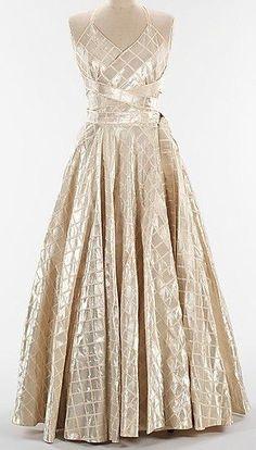 Evening dress ca.1938  Jeanne Lanvin