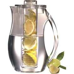 Imaristarr's Faves: Prodyne Fruit Infusion Pitcher with Ice Core - Iced Fruit Infusion Pitcher with Ice Core -A healthier way of enjoying refreshing lemon water, raspberry iced tea and more. YOU CAN BUY THEM HERE: https://www.luvocracy.com/imaristarr/recommendations/prodyne-fruit-infusion-pitcher-with-ice-core
