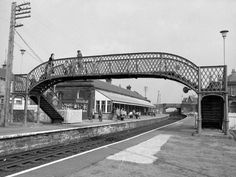 Saltcoats Station, North Ayrshire in the - West Coast Scotland, Living In England, Slums, Sydney Harbour Bridge, Glasgow, Places Ive Been, Britain, Architecture, City