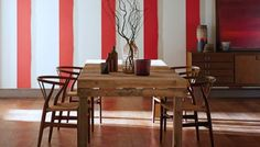 Papel de parede para a sala de jantar
