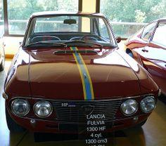 Lancia Fulvia 1300 HF red v