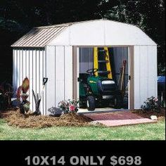 Metal Sheds, FREE Nationwide Shipping, http://rentsheds.com/metal-shed-carports-buildings-garages.htm