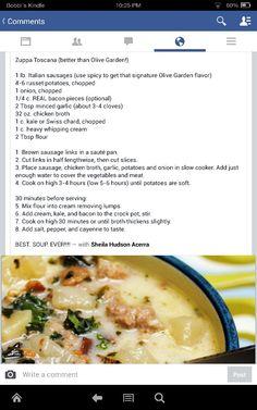Zoppa toscana recipe