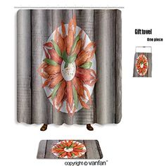 vanfan bath sets with Polyester rugs and shower curtain plate with red boiled crayfish and herbs with shower curtains sets bathroom 72 x 72 inches&31.5 x 19.7 inches(Free 1 towel and 12 hooks) #vanfan #bath #sets #with #Polyester #rugs #shower #curtain #plate #boiled #crayfish #herbs #curtains #bathroom #inches&. #inches(Free #towel #hooks)