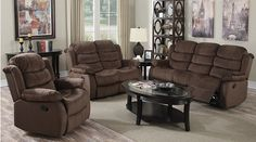 Bringing a simplistic style into the home, this casual styled dual reclining sofa and loveseat set is all creating a comfortable atmosphere. Designed to c. Loveseat Recliners, Sofa And Loveseat Set, Couch Set, Living Room Sets, Living Room Chairs, Living Room Furniture, Sectional Patio Furniture, Buy Chair, Best Sofa