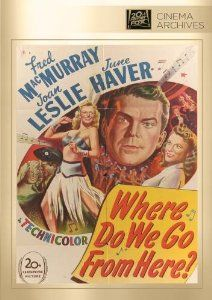 Amazon.com: Where Do We Go From Here?: Fred MacMurrary, Joan Leslie, June Haver, Gregory Ratoff, Sy Herzig, Morrie Ryskind: Movies & TV.  Features songs by Kurt Weill and Ira Geshwin.