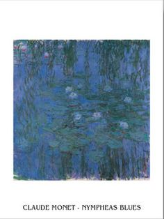 Blue Water Lilies Taide