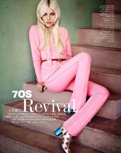Aline Weber by Matt Irwin for Vogue China Collections December 2014 [Collections]