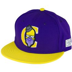 Cayler & Sons Cap Donuts purple/yellow
