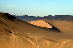 Sechura Desert in the North of Peru