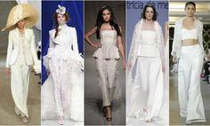 Vídeo tendências 2013: calças para noivas! Clique para ver.