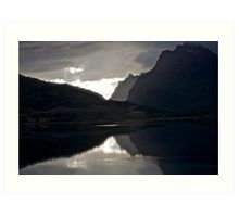 7 ★★★★★.Lofoten Magic landscape. . by Brown Sugar . Views (358) Thx! Art Print